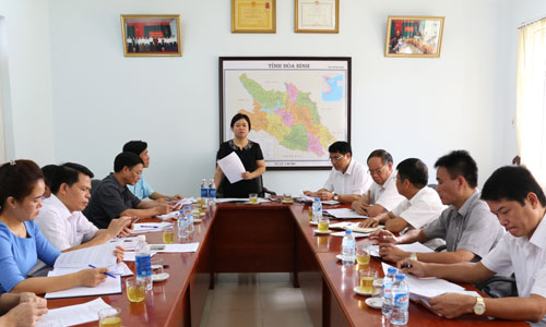 Khảo sát tình hình phát triển đội ngũ cán bộ, công chức, viên chức người dân tộc thiểu số trên địa bàn tỉnh