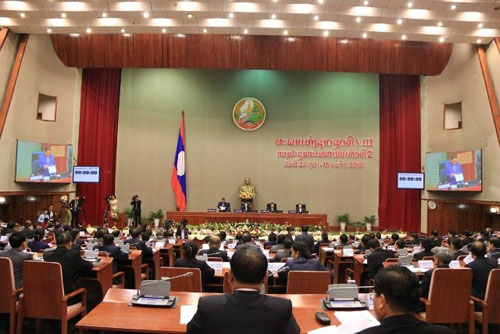 Lào khai mạc Kỳ họp thứ 2 Quốc hội khóa VIII