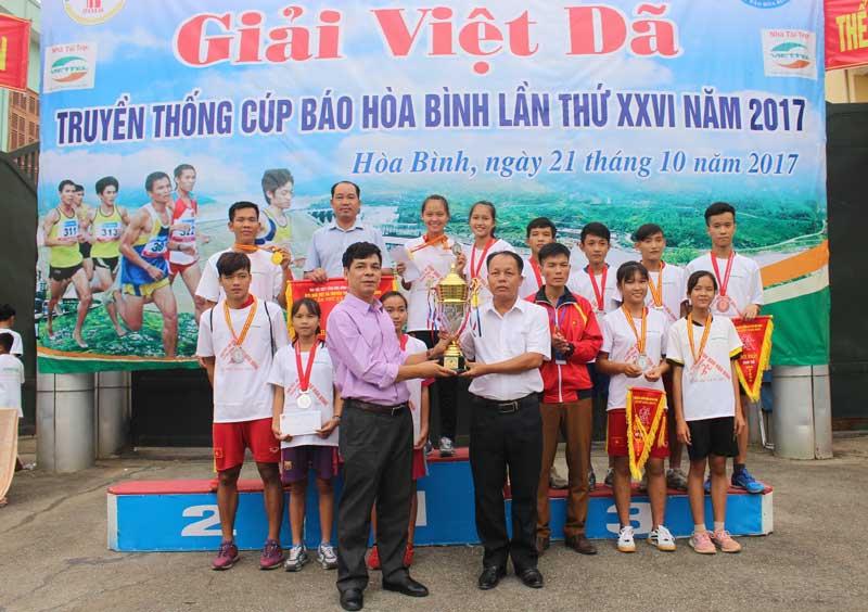 Giải Việt dã truyền thống Cúp Báo Hòa Bình lần thứ XXVI năm 2017 thành công tốt đẹp