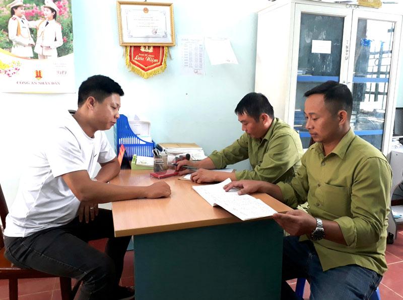 Xã Đông Phong giữ ổn định an ninh trật tự ở cơ sở