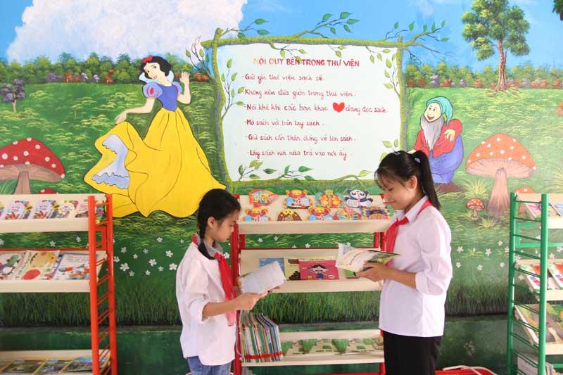Mô hình thư viện thân thiện - nâng cao văn hóa đọc cho học sinh