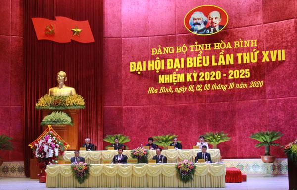 Bế mạc Đại hội đại biểu Đảng bộ tỉnh lần thứ XVII, nhiệm kỳ 2020 – 2025