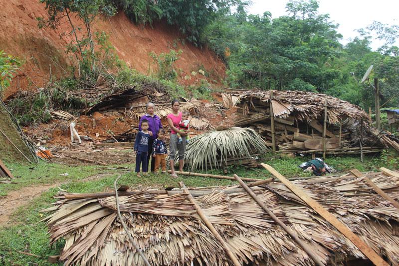 Xã Tân Pheo dồn lực khắc phục hậu quả mưa lũ