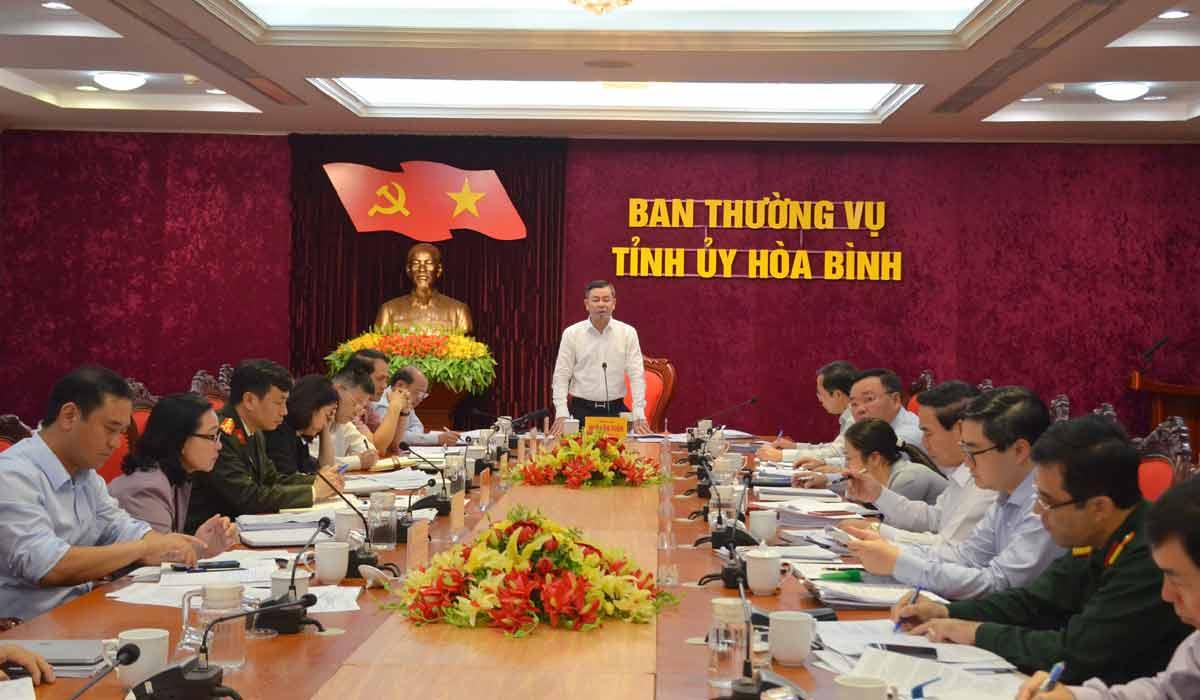 Bí thư Tỉnh ủy Ngô Văn Tuấn: Xác định rõ người, rõ việc, khắc phục yếu kém trong thực hiện nhiệm vụ chính trị