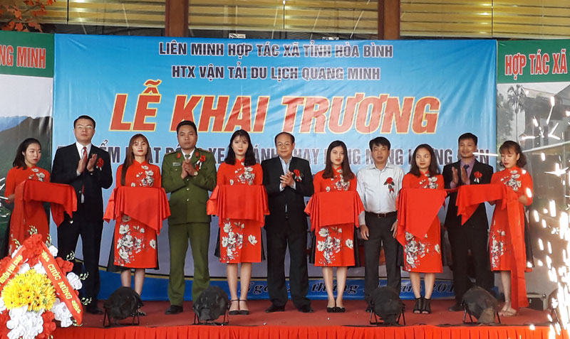 The launching ceremony of the four-wheel drive operation of