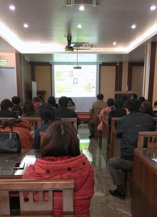 Trung tâm KSBT Hòa Bình: tập huấn, triển khai lập hồ sơ sức khỏe cá nhân cho cán bộ y tế xã, thị trấn