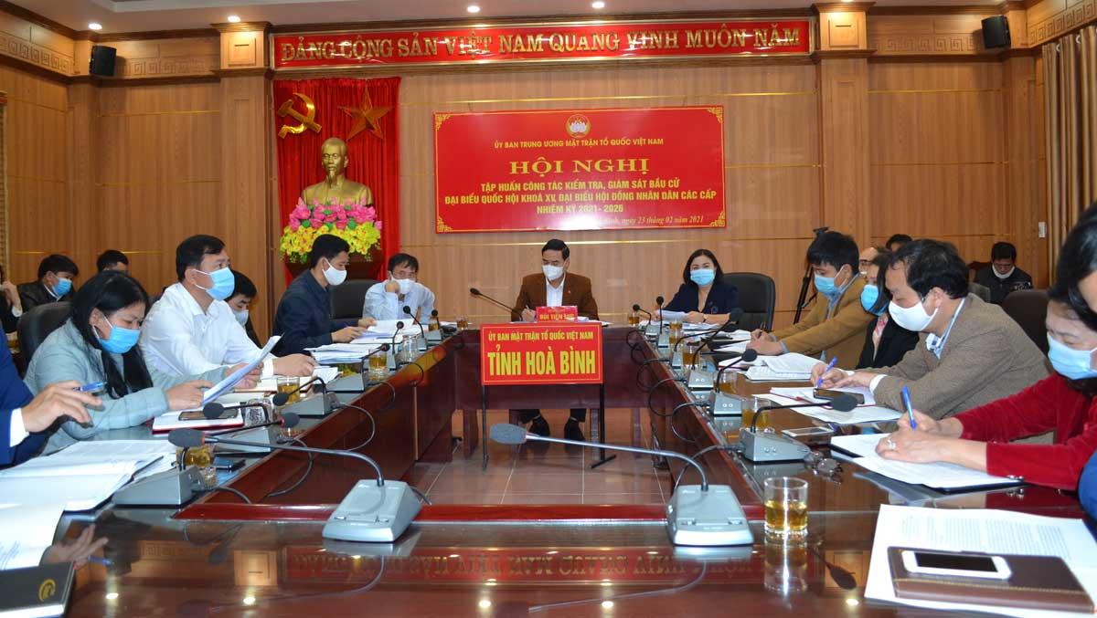 Chú trọng công tác kiểm tra, giám sát bầu cử đại biểu Quốc hội khóa XV và đại biểu HĐND các cấpV