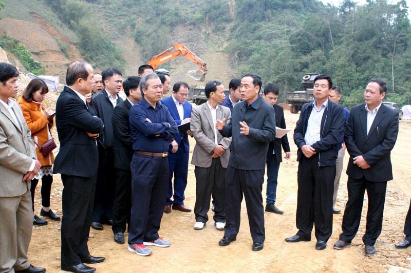 Triển khai khu tái định cư xã Nam Sơn, bảo đảm sinh kế bền vững cho người dân