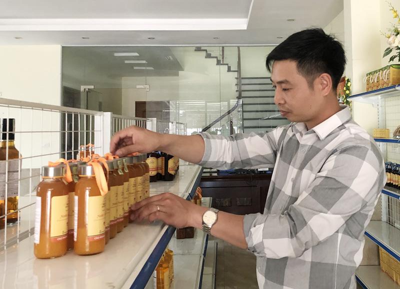 Huyện Cao Phong phấn đấu đưa sản phẩm OCOP vươn xa