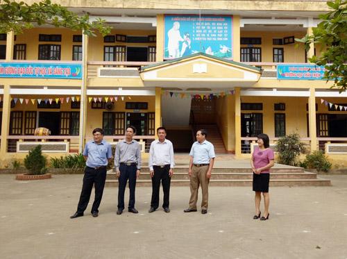 Thẩm định xã Thanh Lương, huyện Lương Sơn đạt chuẩn nông thôn mới
