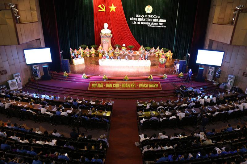 Khai mạc Đại hội Công đoàn tỉnh lần thứ XVI, nhiệm kỳ 2018-2023