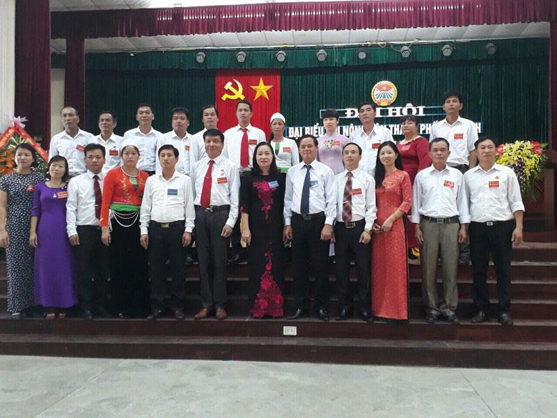 Đại hội đại biểu Hội Nông dân thành phố Hòa Bình lần thứ IX, nhiệm kỳ 2018 – 2023