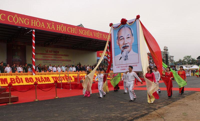 Huyện Kim Bôi phát huy khối đại đoàn kết thực hiện Di chúc Bác Hồ