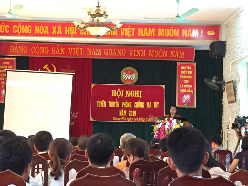 170 hội viên Hội Nông dân được tuyên truyền phòng, chống ma túy