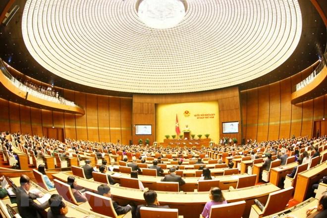 Kỳ họp thứ năm Quốc hội Khóa XIV bế mạc sau 21 ngày làm việc