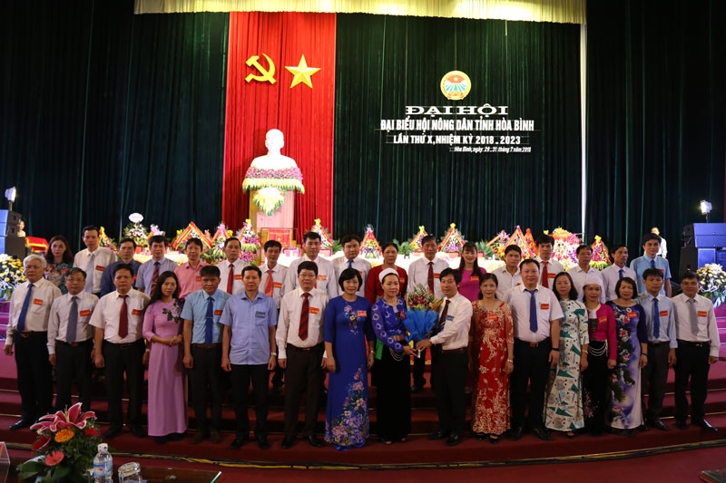 Đại hội đại biểu Hội Nông dân tỉnh lần thứ X, nhiệm kỳ 2018 – 2023 thành công tốt đẹp