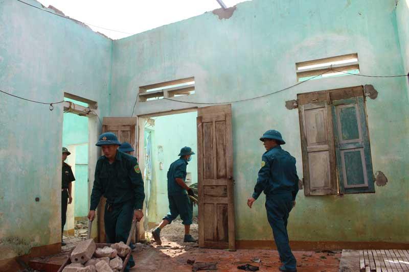 Xã Thu Phong trang bị kiến thức, kỹ năng phòng, chống thiên tai cho người dân