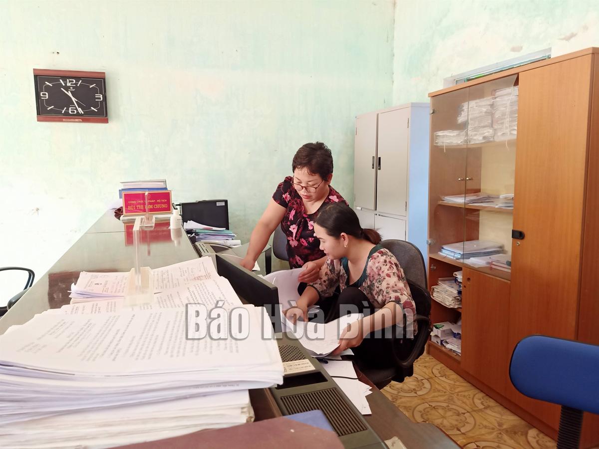 Xã Bắc Phong: Chú trọng làm tốt công tác đăng ký, quản lý hộ tịch