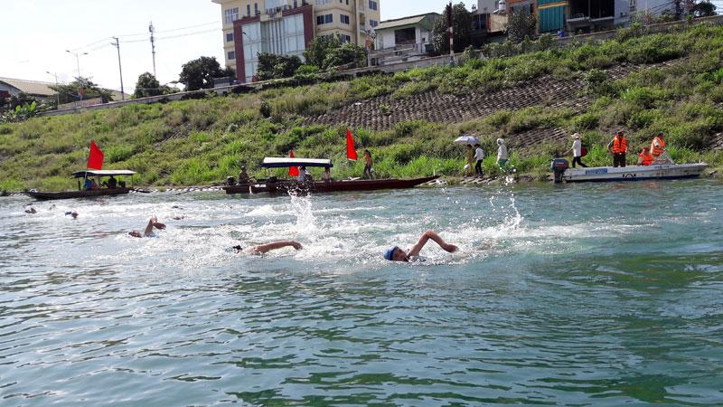 Xã Địch Giáo phát triển môn bơi