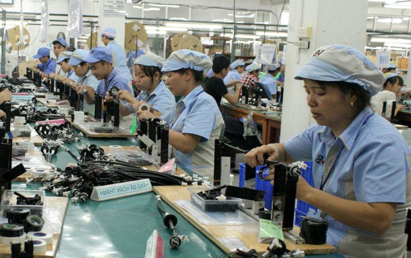 Doanh nghiệp KCN giải quyết việc làm cho 15.400 lao động