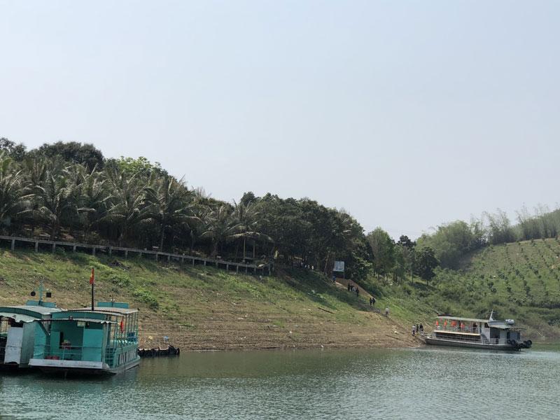 Hấp dẫn điểm du lịch sinh thái đảo Dừa