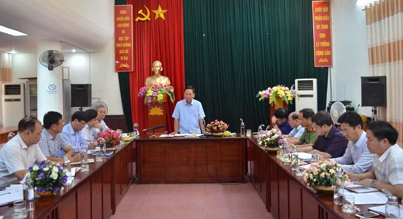 Kiểm tra thực hiện Nghị quyết Đại hội Đảng bộ tỉnh lần thứ XVI tại Sở NN&PTNT