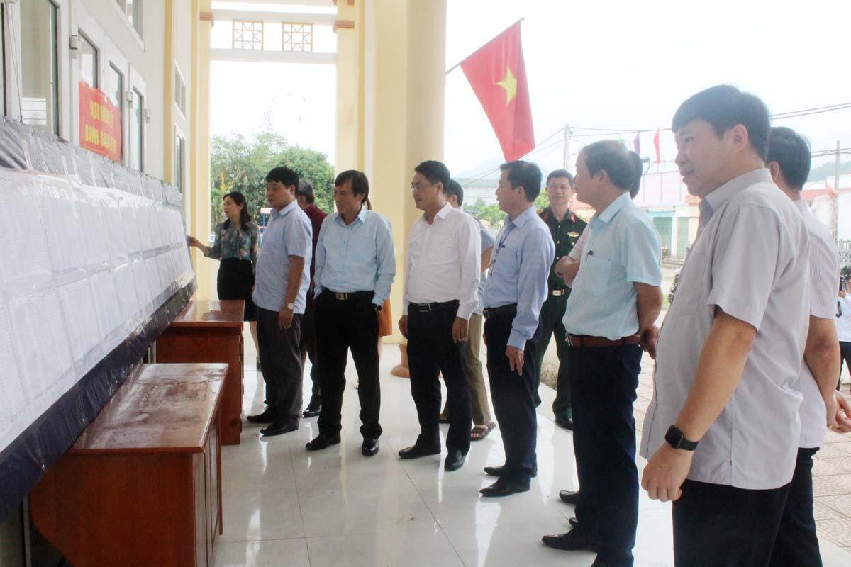 Huyện Đà Bắc: Chủ động các phương án phục vụ công tác bầu cử