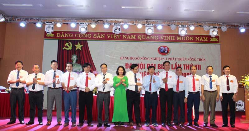 Đại hội đại biểu Đảng bộ Sở Nông nghiệp và Phát triển nông thôn lần thứ VII