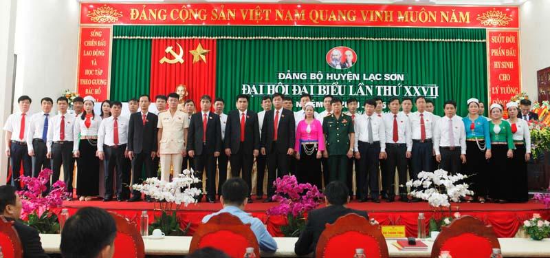 Đại hội đại biểu Đảng bộ huyện Lạc Sơn lần thứ XXVII thành công tốt đẹp